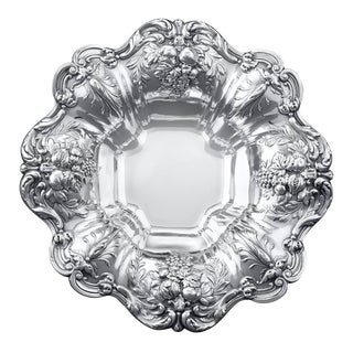 Francis I Silver Footed Bowl by Reed & Barton For Sale