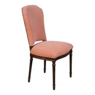 Sarreid Emilion Dining Side Chair, Dusty Brick For Sale
