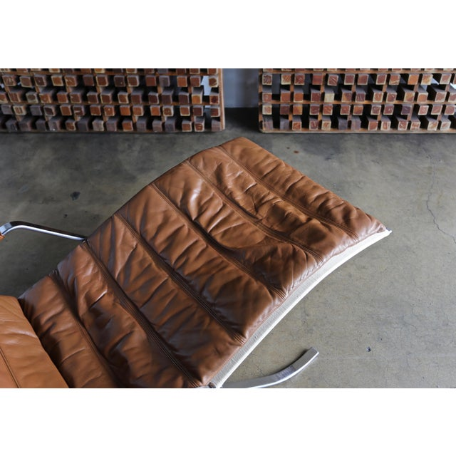 Preben Fabricius and Jørgen Kastholm for Alfred Kill Grasshopper Chaise For Sale - Image 9 of 13