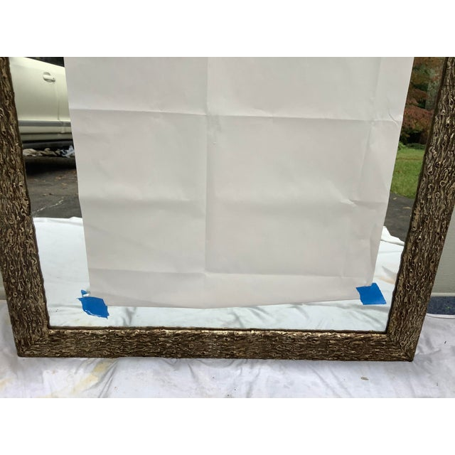French Faux Bois Mirror For Sale - Image 4 of 13