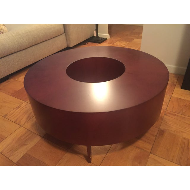 Red Round Coffee Table - Image 10 of 10
