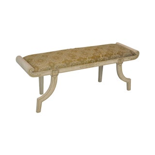Niermann Weeks Hand Painted Cambon Bench For Sale