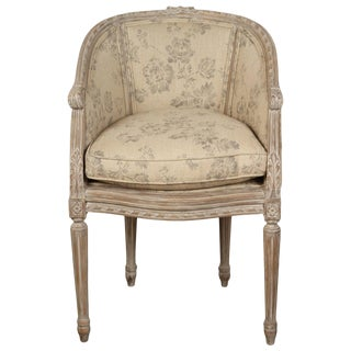 Late 19th Century French Boudoir Chair For Sale