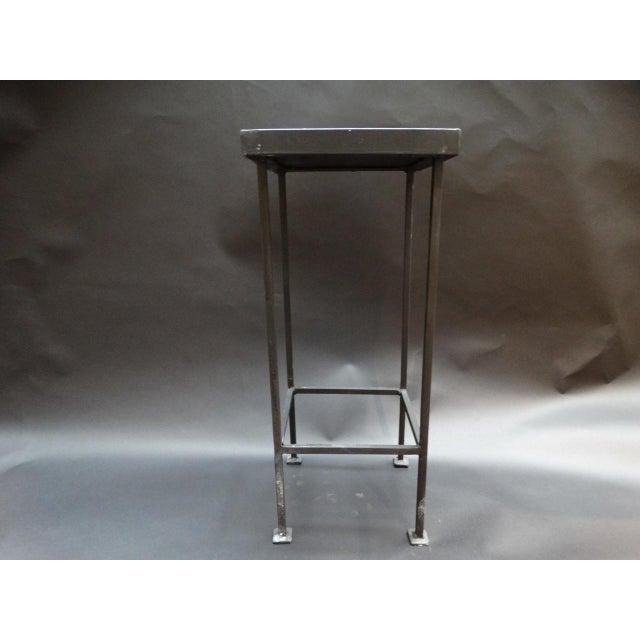 1920s Spanish Revival Malibu Tile Side Table For Sale - Image 4 of 6
