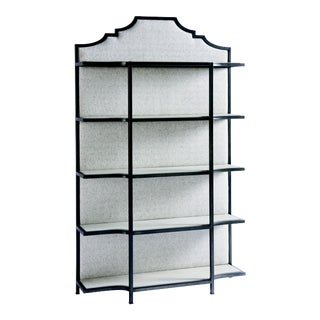 Transitional Gramercy Etagere, Black For Sale