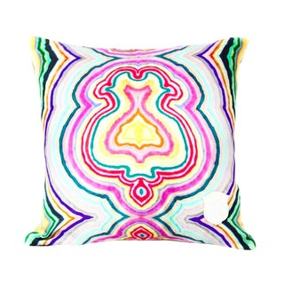 Funky Agate Pillow Cover