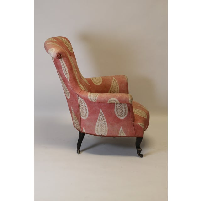 French 19th Century French Scroll Back Chair For Sale - Image 3 of 10