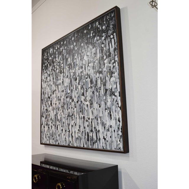 """Larry Locke """"The Crowd"""" Acrylic Painting on Canvas, 2019 For Sale In Dallas - Image 6 of 12"""