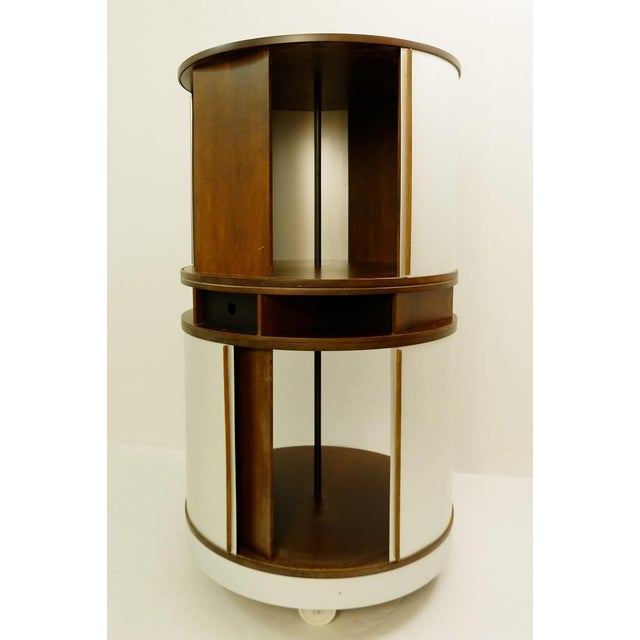 Brown 'Combi Center' by Joe Colombo for Bernini - 1963 For Sale - Image 8 of 8
