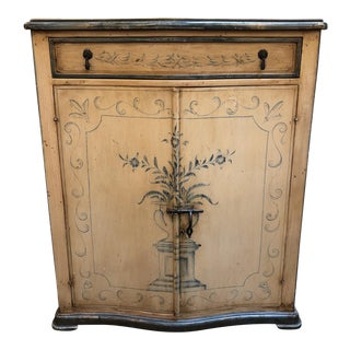 Italian Style Hand-Painted Cabinet