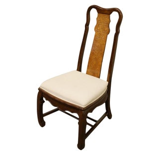 Late 20th Century Vintage Universal Furniture Chinoiserie Dining Chair For Sale