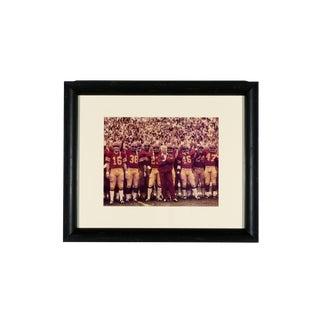 1970s Usc Trojans Football Team Photo With Coach John McKay, Newly Framed For Sale