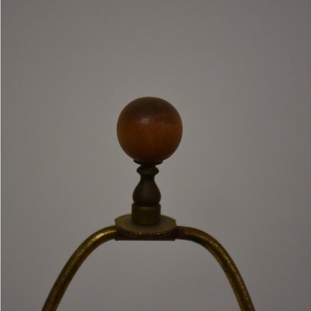 Mid Century Pottery Table Lamp - Image 6 of 9
