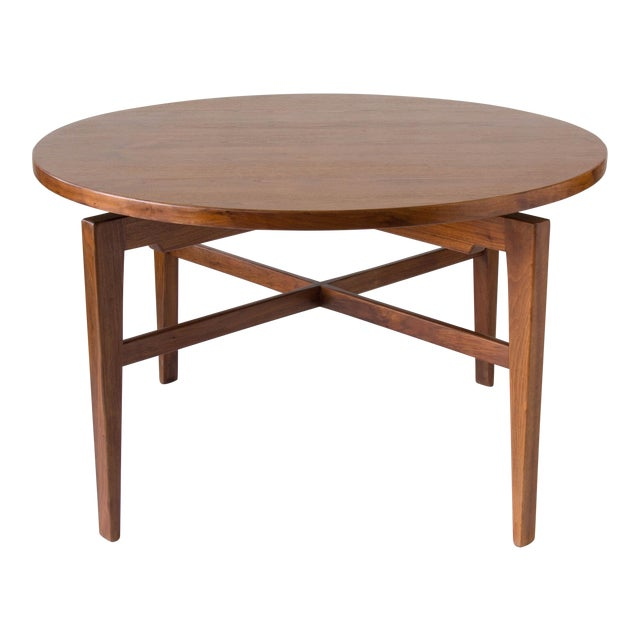 Jens Risom Lazy Susan Game Table For Sale