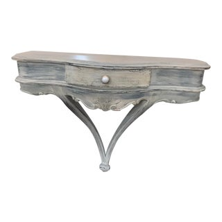 French Country Console/Wall Shelf For Sale