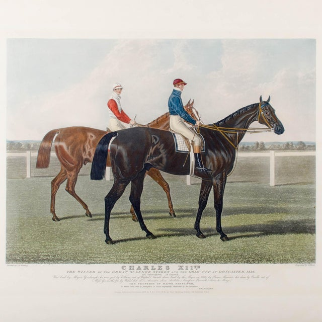 Charles Hunt Race Horse Engraving - Image 3 of 4
