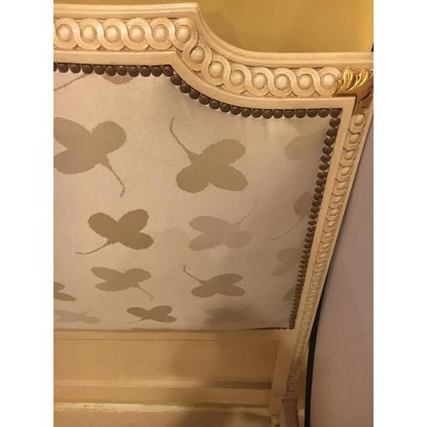 Painted French Louis XVI Style Bed - Image 5 of 7