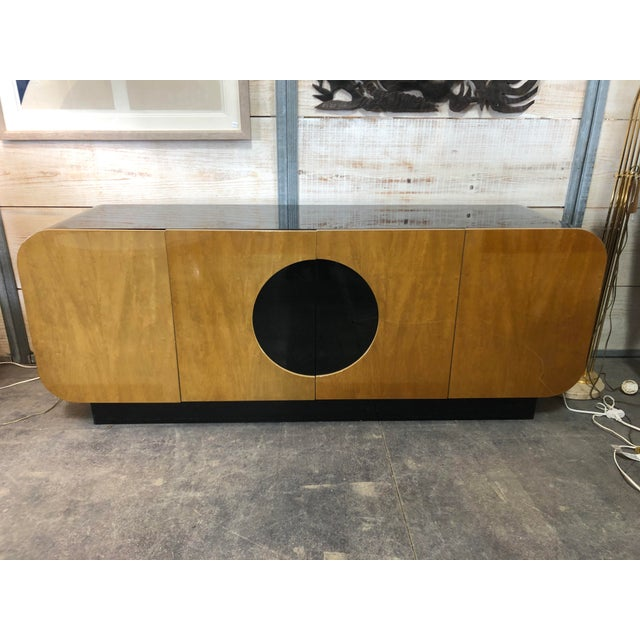 Modern Wood Credenza by Casa Bique For Sale - Image 9 of 9