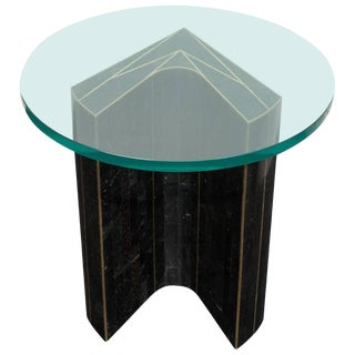 Granite Inlay Table For Sale