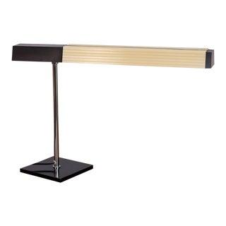 Lightolier Chrome Desk Lamp For Sale
