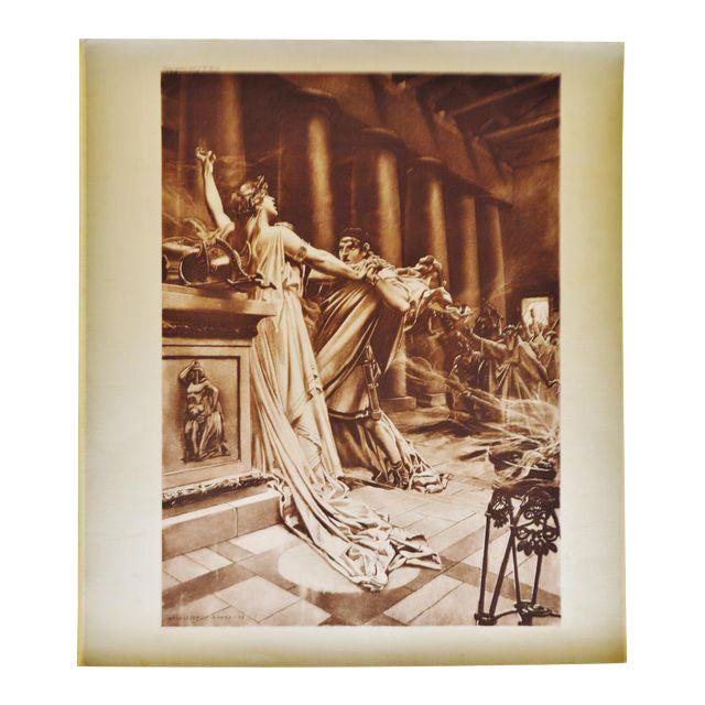 """""""Norma Act II Scene X"""" William De Leftwich Dodge Photogravure - Image 1 of 7"""