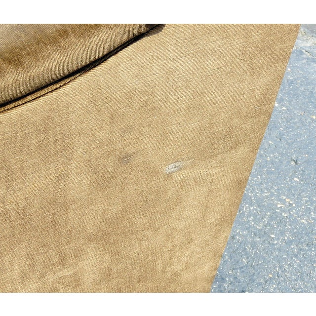 Pair of Mid-Century Modern Oversized Lounge Chairs For Sale - Image 10 of 11