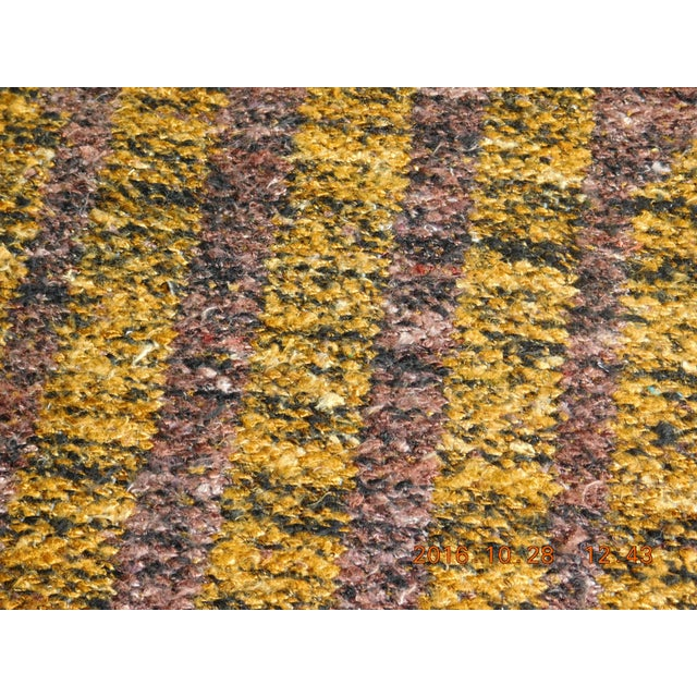 "Modern Flat Weave Rug - 8' X 10'5"" For Sale - Image 9 of 10"