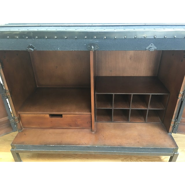 Dry Bar Trunk Cabinet - Image 4 of 5