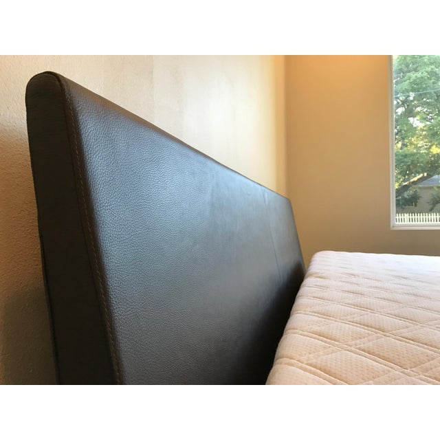 Loja Leather King Bed ** Final Markdown or It Goes to Goodwill ...