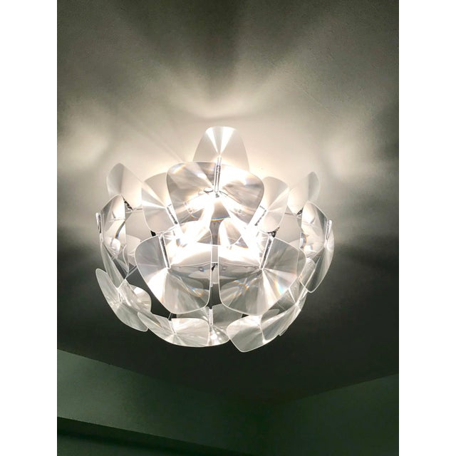 Hope Modernist Ceiling Light With Reflective Prisms by Luceplan, Italy 2018 For Sale - Image 13 of 13