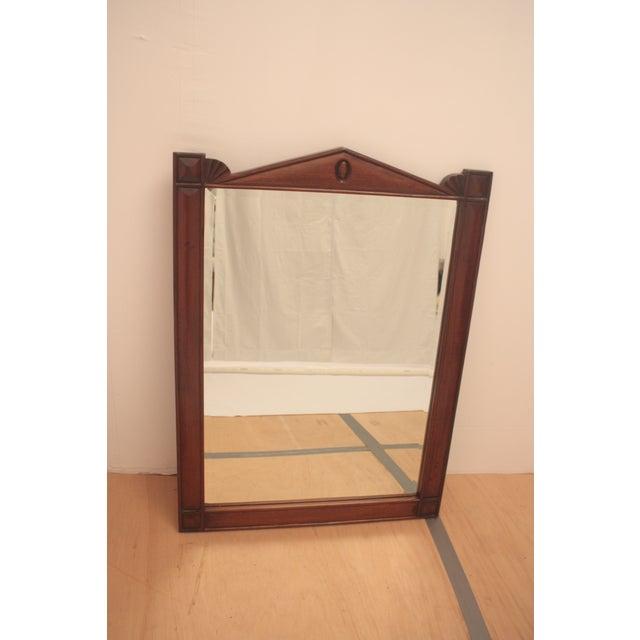 Pediment Detail Beveled Mirror - Image 10 of 11