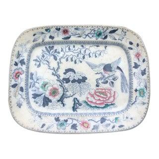 1870s Ashworth Ironstone Platter For Sale