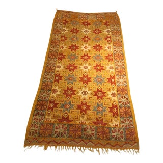 Gold Multi Moroccan rug