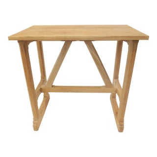 Martin & Brockett Short Trestle Wood Table