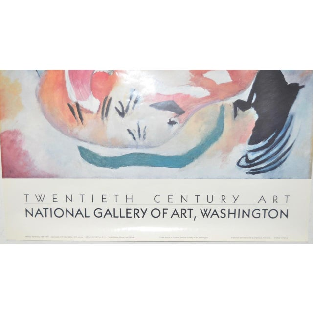 Wassily Kandinsky National Gallery of Art Exhibition Poster - Image 3 of 7