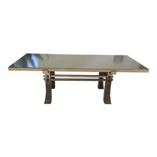 Asian Modern Custom Coffee Table For Sale