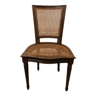 Provincial Style Caned Chair, Made in France