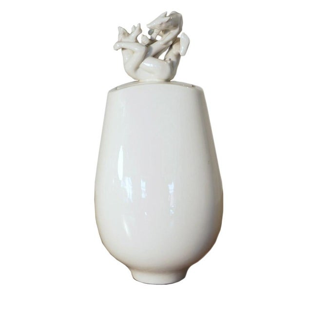 1950s Johannes Hedegaard for Royal Copenhagen Vase For Sale - Image 12 of 12