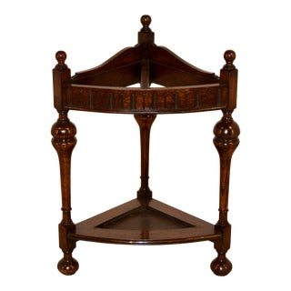 Late 19th Century Corner Cane Stand For Sale