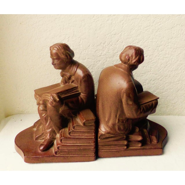 Elbert Hubbard Bookends - Image 5 of 11