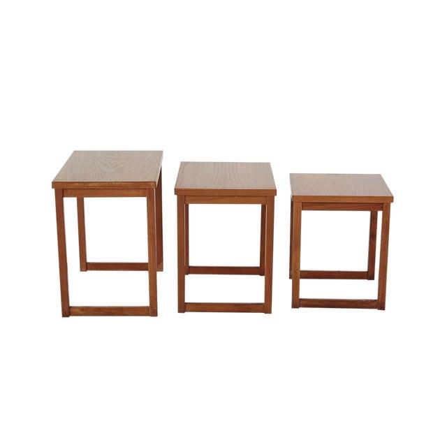 Set of Kai Kristiansen Nesting Tables For Sale