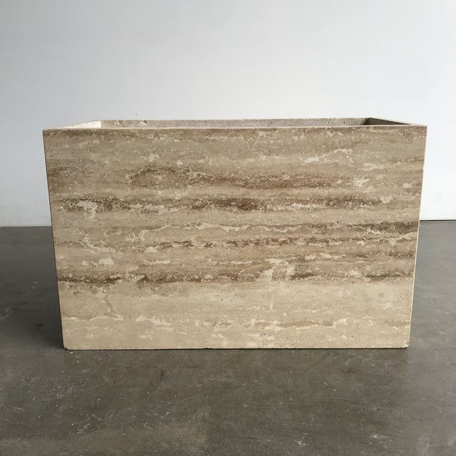 Available is a solid travertine coffee table . Top removes for easy transportation. Nice curved border on edge , great...
