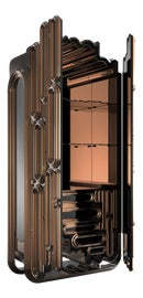 Image of Mirror Storage Cabinets and Cupboards