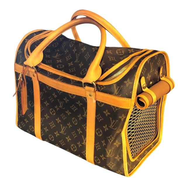 Louis Vuitton 40 Monogram Canvas Luggage Bag For Sale