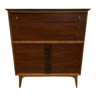 Bassett Mayan Series Highboy Dresser