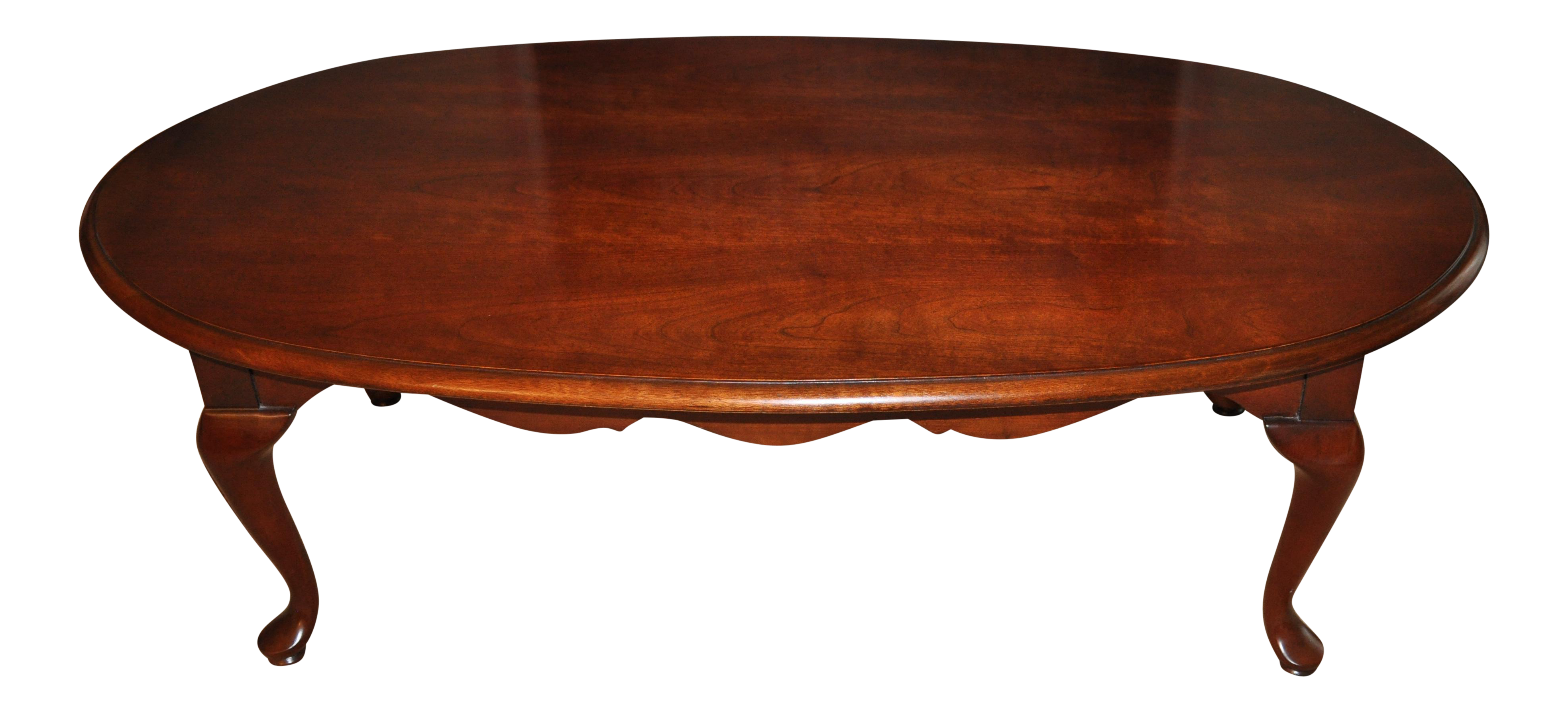 Merveilleux Thomasville Queen Anne Style Coffee Table