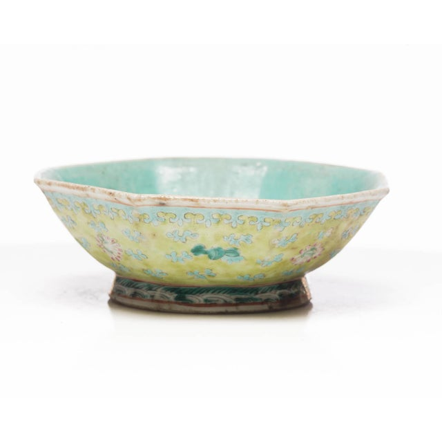 18th Century 18th Century Chinese Famille Rose Bowl For Sale - Image 5 of 7