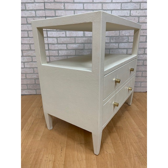 Traditional Made Goods Jarin Double Nightstand For Sale - Image 3 of 13