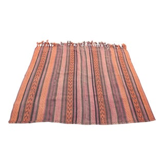 Anatolian Turkish Kilim Rug -5'2'' x 6'2'' For Sale