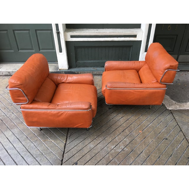 Saporiti Lounge Chairs - a Pair For Sale In Philadelphia - Image 6 of 13